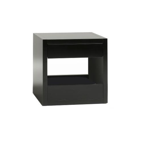 Bloq Pet Bed & Side Table - Black 6