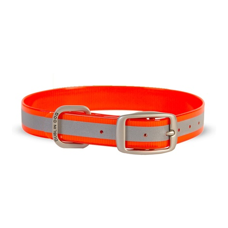 Koa Waterproof Dog Collar – Reflex Orange