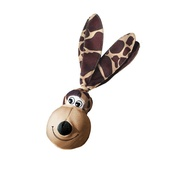 Kong - KONG Wubba Floppy Ears Dog Toy - Giraffe