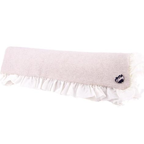 Dog Blanket in Beige Sepia Cashmere