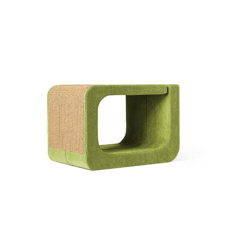 Scratching Post - Letter O - Green
