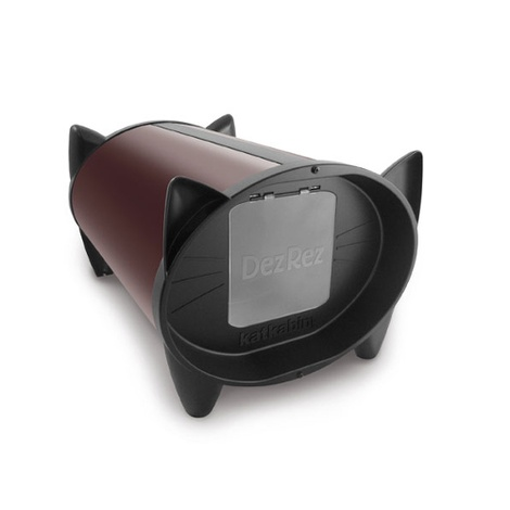 DezRez Outdoor Cat House - Chocolate Brown