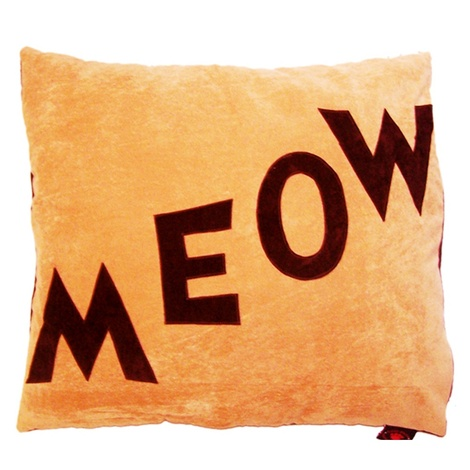 Cat Nappa Meow – Chocolate/Tan