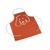 In Vogue Pets - Waterproof Apron - Doodle Dog Persimmon