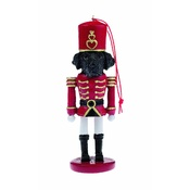 NFP - Black Labrador Nutcracker Soldier Ornament
