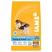 Iams - Puppy/Junior Large Breed Dog Food