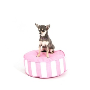 Bon Bon Soft Dog Bed - Pink Stripe