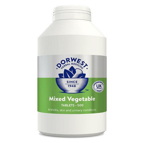 Mixed Vegetable Tablets for Dogs and Cats 3
