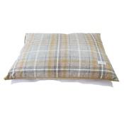 Teddy Maximus - Sand Shetland Wool Luxury Lounging Dog Bed Cushion
