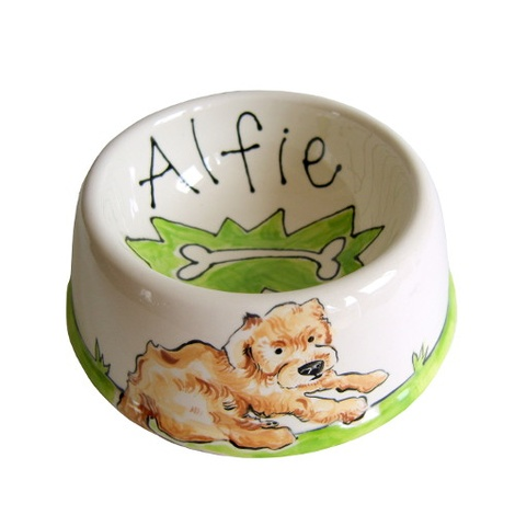 Small Personalised Dog Bowl 2