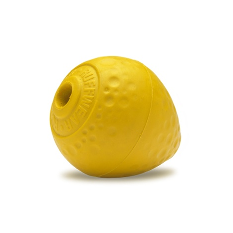 Turnup Dog Toy - Dandelion Yellow 2