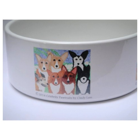Corgi Dog Bowl 5