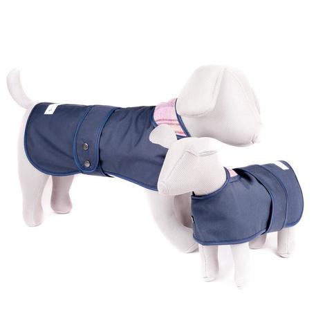 Pink Shetland Wool Waxed Dog Coat 5