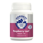 Dorwest Veterinary - Raspberry Leaf Tablets for Dogs and Cats