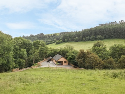 Ploony Hill Lodge, Shropshire, Knighton