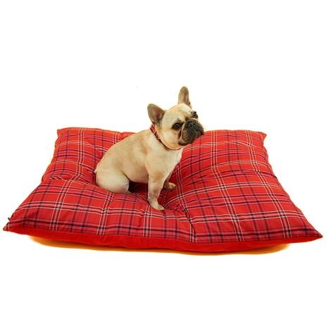 Henry Holland Red Tartan Dog Bed 4