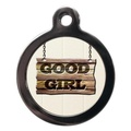 Good Girl Pet ID Tag