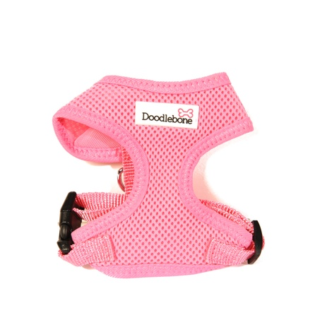 Airmesh Dog Harness – Pink 2