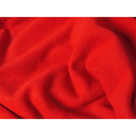 Double Fleece Dog Blanket - Red 3