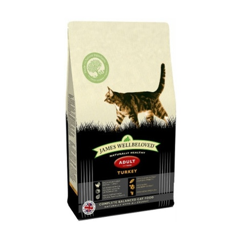 Turkey & Rice Adult Dry Food Cat Food