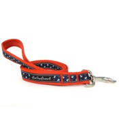 Salt Dog Studios - Little Sailors Navy on Red Dog Lead