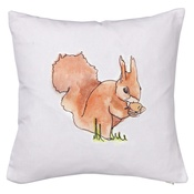 Stefanie Pisani - Squirrel Cushion