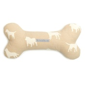 Mutts & Hounds - Biscuit Squeaky Bone Toy