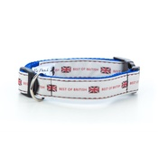 "Pet Pooch Boutique - Best of British Dog Collar 1"" Width"