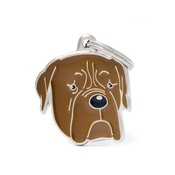 My Family - Dogue de Bordeaux Engraved ID Tag