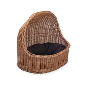 Prestige Wicker - Wicker Pet Bed with Dark Cushion