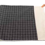 Ralph & Co - Dog Blanket - Fabric and sherpa wool - Ascot