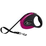Flexi - Flexi Collection Retractable Dog Lead – Pink & Black