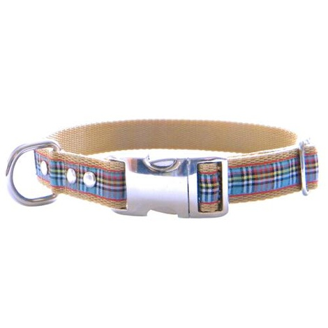 Scottish Anderson Tartan Dog Collar – Black 4