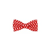 Arton & Co - Red Christmas Tree Dog Bow Tie