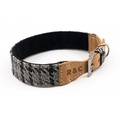 Tweed & Leather Dog Collar - Henley 2