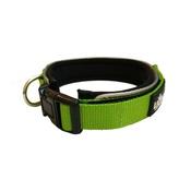 Liopard - Liopard Padded Nylon Dog Collar – Lime