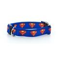 "Superman Dog Collar 1"" Width"