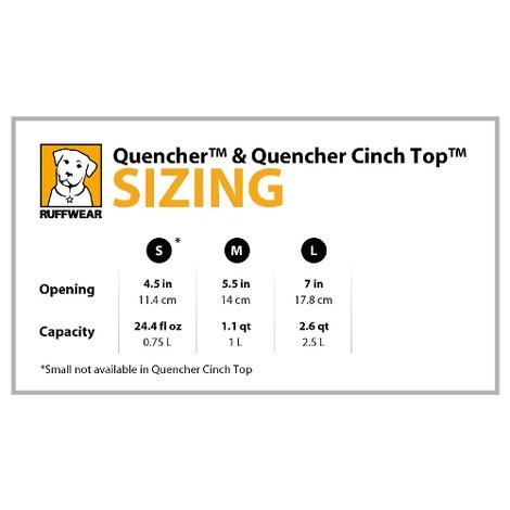 Ruffwear Quencher Cinch Top Bowl - Purple Dusk 4