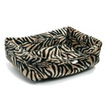 Antelope Faux Fur Dog Bed