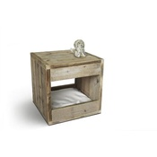 Binq Design - Bloq Nature Pet Bed & Side Table
