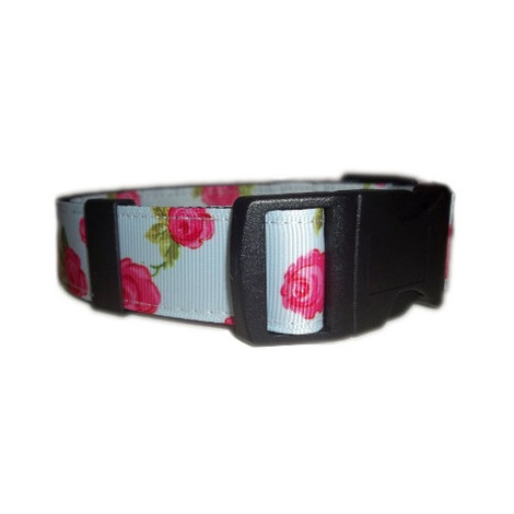 Vintage English Rose Dog Collar 2