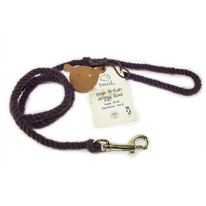 Puppy Slip lead -  Posh Purple