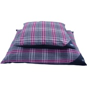 Hem & Boo - Pink Check Deep Duvet Dog Bed