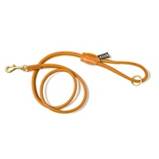 Dogs & Horses - Tan Rolled Leather Lead