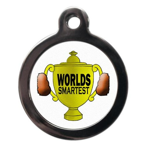 Worlds Smartest Pet ID Tag