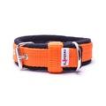 2.5cm width Fleece Comfort Dog Collar – Orange