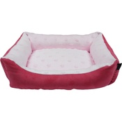 Hem & Boo - Baby Soft Mini Rectangle Dog Bed - Pink