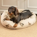 Grouse Linen Donut Bed 4