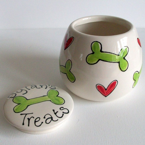 Personalised Treat Jar 2