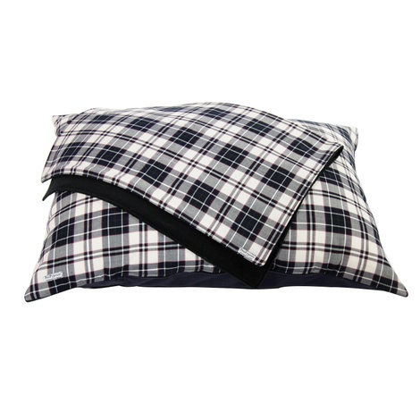 McNulty Personalised Dog Bed - Navy & White 2